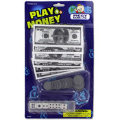 PLAY MONEY/DICE SET