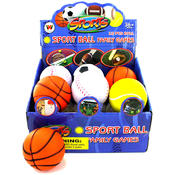 12Pc Sports Ball Display