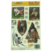 Wishbone Dogs Window Clings