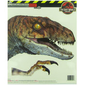 Set of 2 The Lost World Jurassic Window Clings Wholesale Bulk