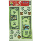 Money Window Clings Wholesale Bulk
