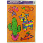 Fiesta Window Clings Wholesale Bulk