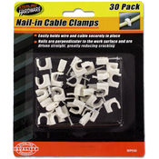 Nail/Cable Clamps 30 Piece