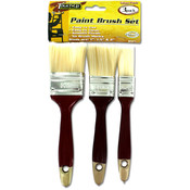 sterling 3 Piece Red Paint Brush Wholesale Bulk