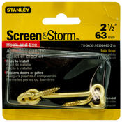 "Stanley 2.5"" Hook and Eye Screws"