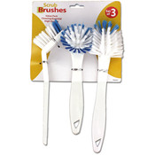 3pc Scrub Brush Set