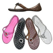 Ladies Sandal (Asst Colors)- Thong