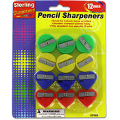sterling Pencil Sharpeners 12 Piece Wholesale Bulk