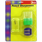 3Pk Pencil Sharpener