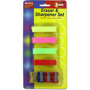 Erasers & Sharpeners Sets