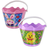 Plastic Easter Basket- Assorted Colors/Styles