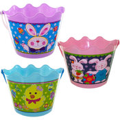 Easter Bucket W/Handle- Asst Styles