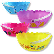 Egg-Shaped Easter Basket- Assorted Colors/Styles