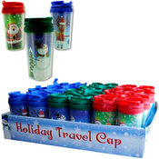 Holiday Travel Cup Assortment- Display