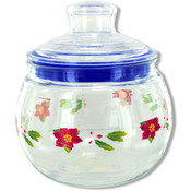 Holiday Candy Jar- Plastic