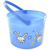 7&quot; Easter Basket 2 Colors