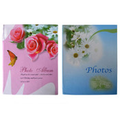 Floral Cover Photo Album Wholesale Bulk