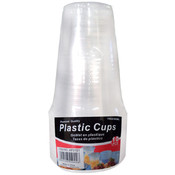 10-Pack 16 oz Plastic Cups Wholesale Bulk