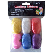 Curling Ribbon, Pack of 6
