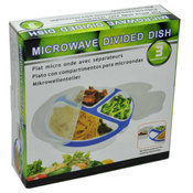 3-Compartment Microwave Dish