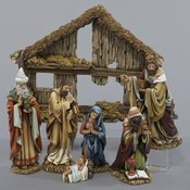 Kurt S. Adler 6' Resin Nativity Set 7Pc Wholesale Bulk