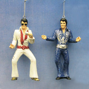 Kurt S. Adler, Inc. 4.25' Elvis Blow Mold Ornaments- 2 Assorted Wholesale Bulk