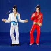 Kurt S. Adler, Inc. 4.25' Elvis Jumpsuit Ornaments- 2 Assorted Wholesale Bulk