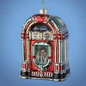 Kurt S. Adler, Inc. 4.5'Glass Elvis Jukebox Ornaments Wholesale Bulk