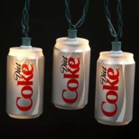 10/L COCA-COLA(R) Diet Coke Can Light Set (1911634)