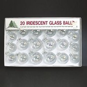 Irridescent Glass Balls