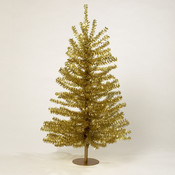 Kurt S. Adler 18' Gold Tinsel Mini Christmas Tree Wholesale Bulk
