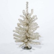 Kurt S. Adler 12' Sterling Silver Mini Timber Pine Tree Wholesale Bulk