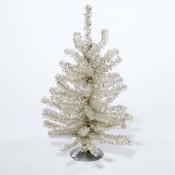 Kurt S. Adler 16' Sterlng Silver Mini Timber Pine Tree Wholesale Bulk