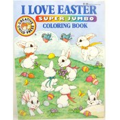 Coloring Book - I Love Easter