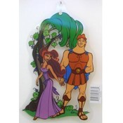 Hercules &amp;amp; Megara Window Cling