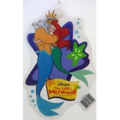 The Little Mermaid with Father Window Cling