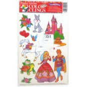 Color Clings Fairy Tales Window Clings Decorations Wholesale Bulk