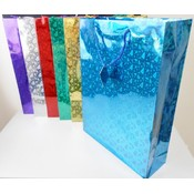 Assorted hologram Gift Bags - Jumbo Wholesale Bulk