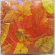 "13"" Thanksgiving Leaf Napkins"