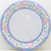 Symbols of Faith Blue Plates