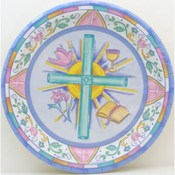 Symbols of Faith Plates