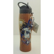 Pumas Stainless Steel Soccer Curve Tank 26 oz - Brown water bottle Wholesale Bulk