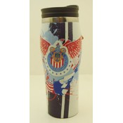 Chivas Soccer Travel Mug 16 oz - White Wholesale Bulk