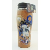 Pumas Soccer Travel Mug 16 oz - Brown curved mug Wholesale Bulk