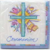 Symbols of Faith Communion Napkins