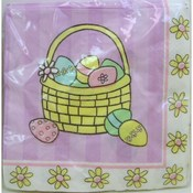 "10"" Easter Egg Basket Napkins"