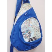 "17"" backpack - Blue Big Apple"
