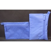 "Pencil Pouch Cosmetic Case 6"" X 4"" - Blue"