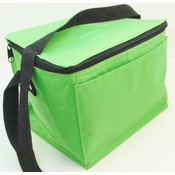 Insulated Lunch Box Cooler Bag - Lime Green