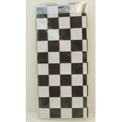 Gift Wrap - Black & White Checkers Wholesale Bulk